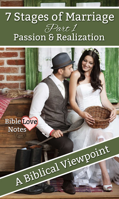 A Biblical look at the 7 Stages of Marriage.