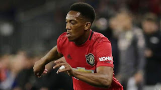 Martial Handed No.9 Shirt by Man Utd