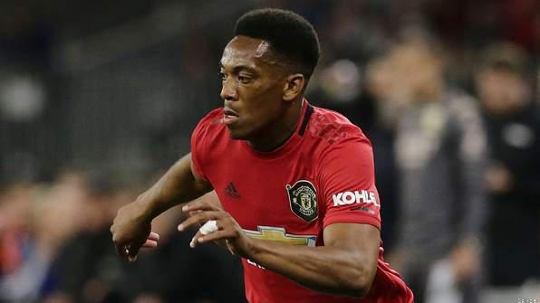 Martial Handed No.9 Shirt by Man Utd