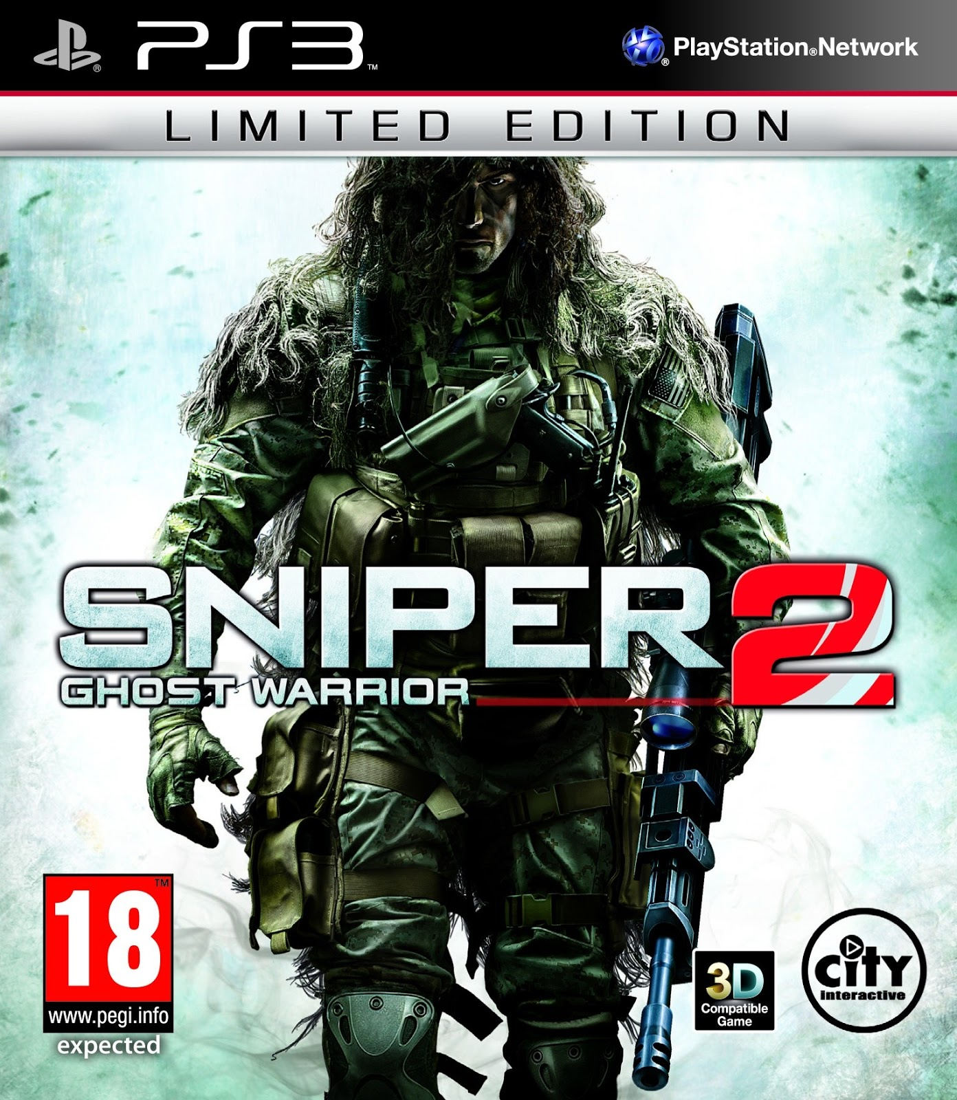 PS3 Sniper Ghost Warrior 2 BLES01527 EBOOT Fix for CFW 3 55