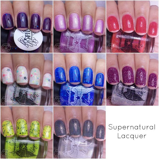 Supernatural Lacquer Review & Swatches