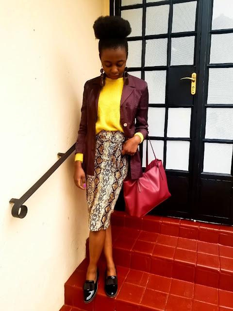 Repeat Offender: Styling My Snakeprint Skirt Again