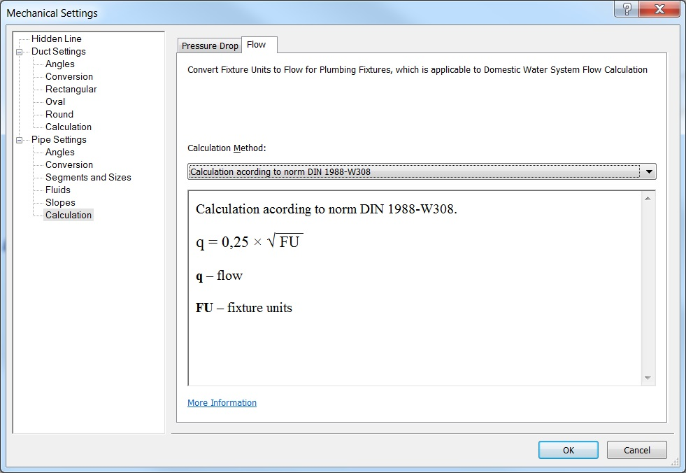 Revit Add-Ons: Water System Calculations Add-in