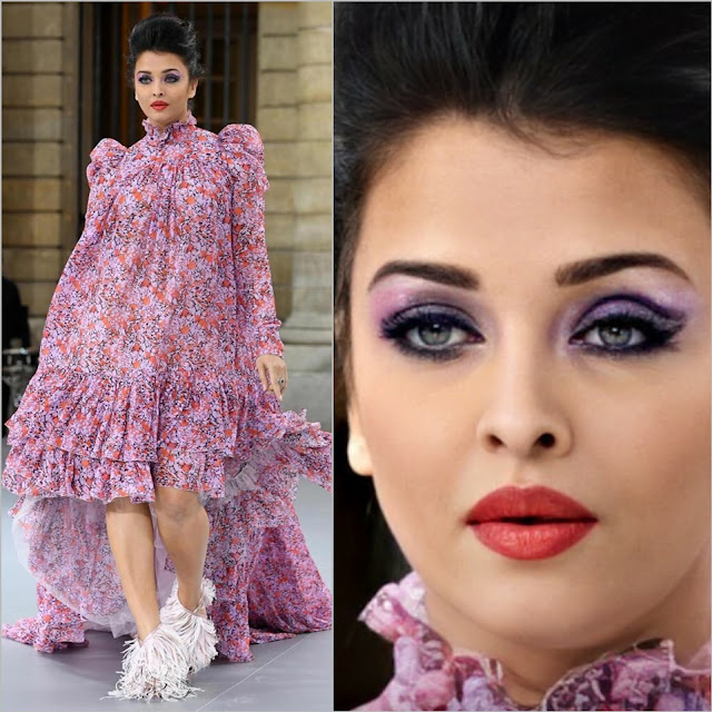 Aishwarya Rai At Paris Fashion Week 2019
