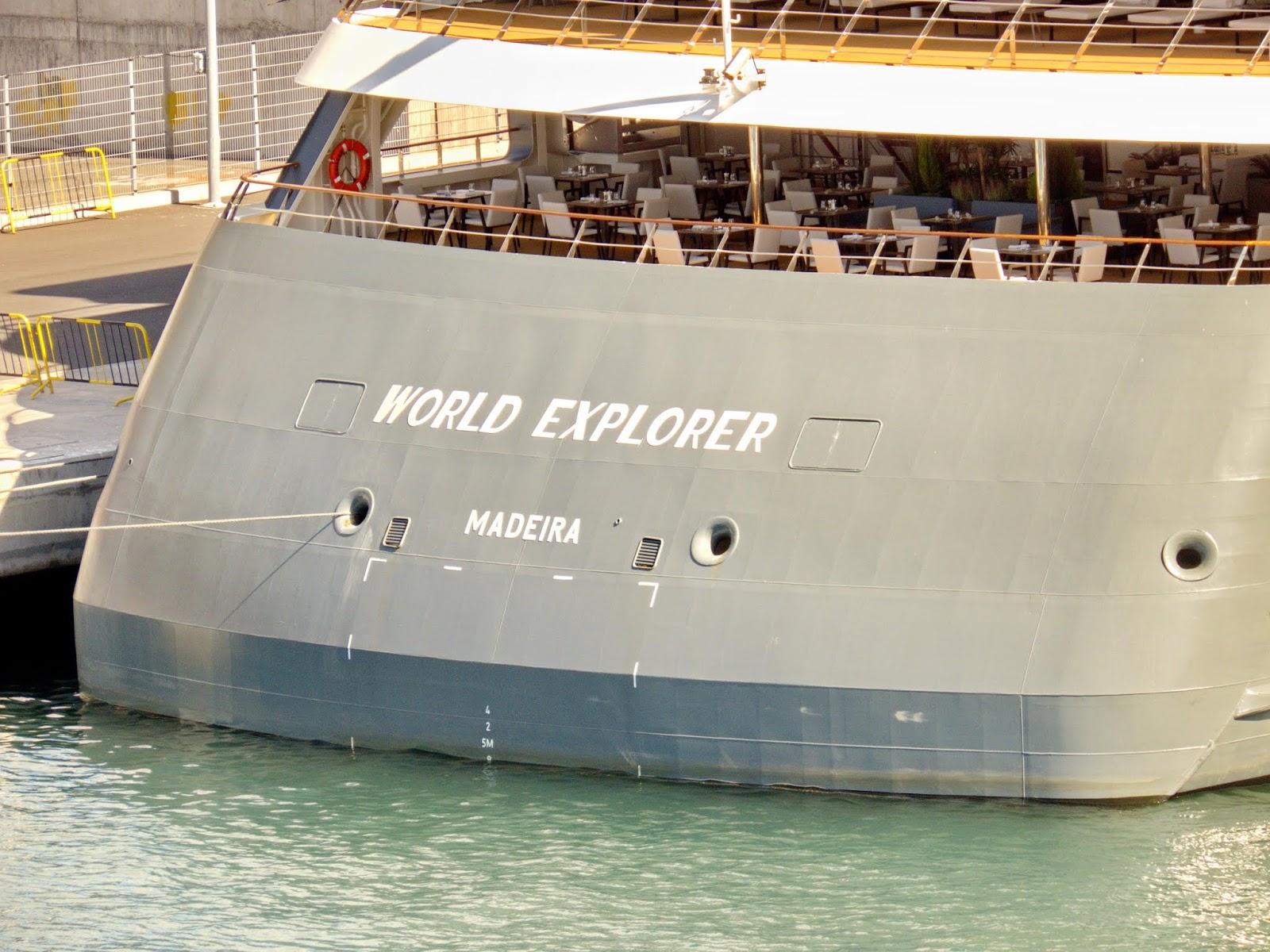 World Explorer com registo na Madeira