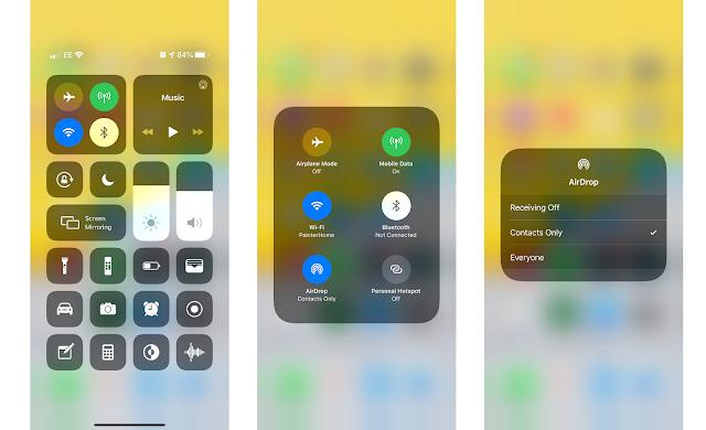 كيفية مشاركة الملفات عبر AirDrop على iPhone أو iPad
