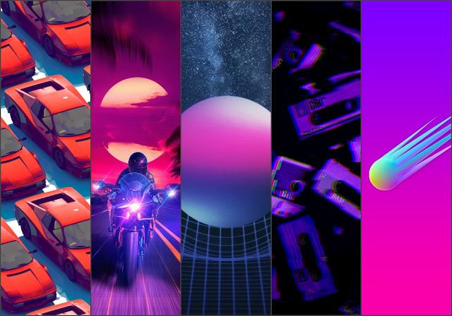 Aesthetic Retrowave Phone Wallpapers Heroscreen Cool Wallpapers