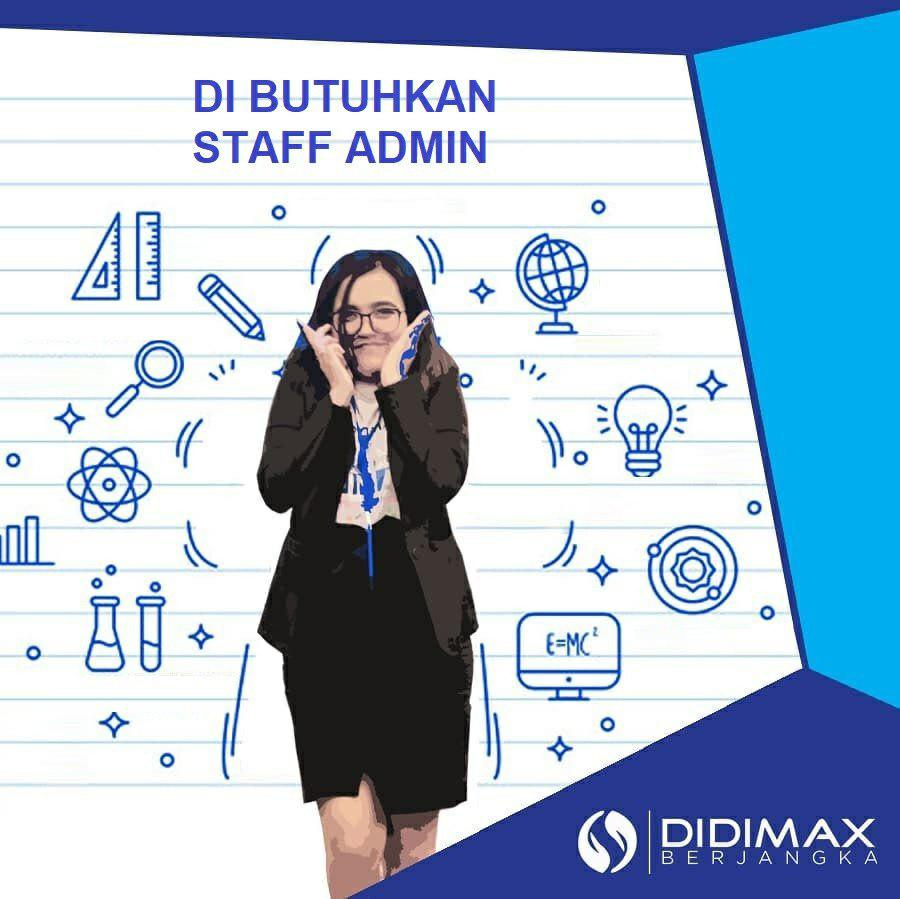 Lowongan Kerja Staff Admin Didimax Berjangka Bandung Juni 2019
