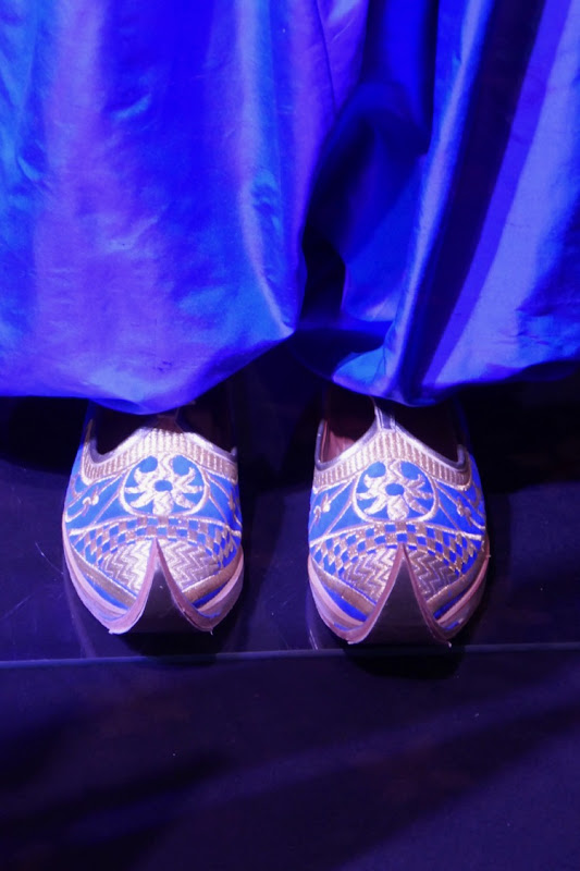 Genie costume slippers Aladdin
