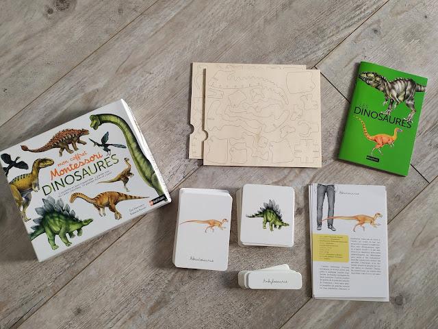 Mon coffret Montessori sur les dinosaures