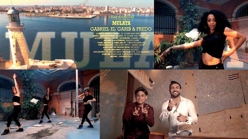 Gabriel el'Garib & Fredo Ros - ¨Mulata¨ - Videoclip - Director: César Rodríguez. Portal Del Vídeo Clip Cubano