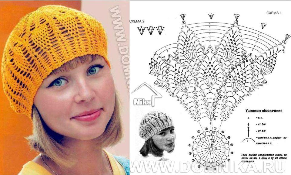 Boina Fácil De Hacer A Crochet Patrones Crochet Manualidades Y Reciclado
