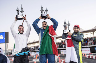 Omani Rafaat Al Yahyai crowned 2017 King Of Red Bull Car Park Drift In Kuwait