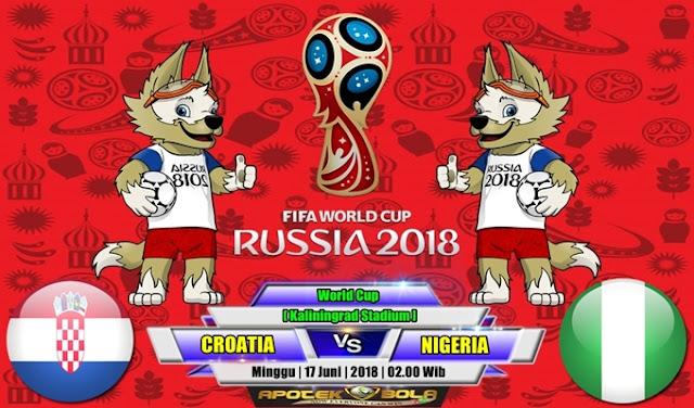 Prediksi Croatia vs Nigeria 17 Juni 2018