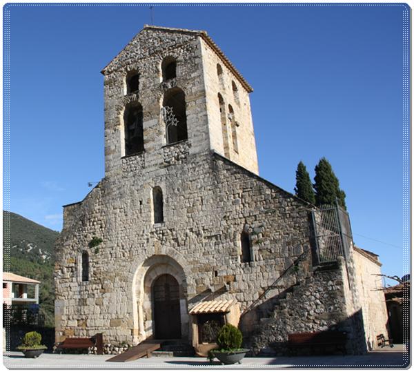 Templo de San Feliu-Beuda (Girona)