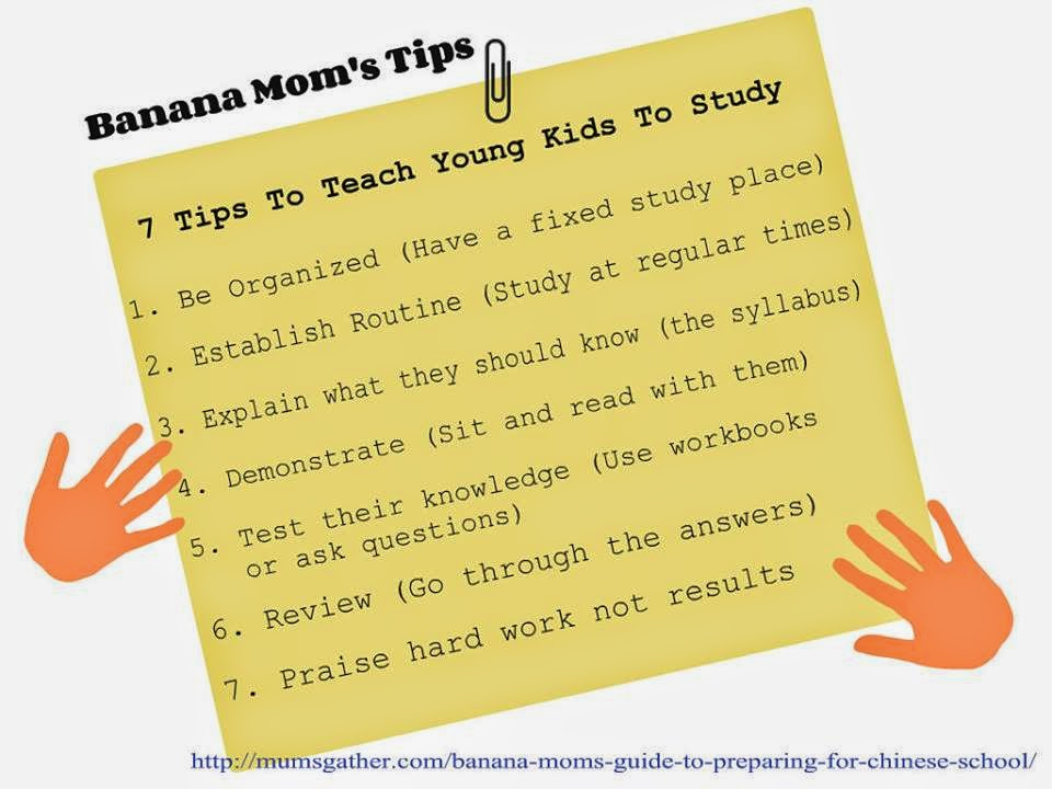 Tips For Teaching Young Kids To Study