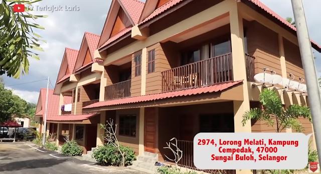Dato Aliff Syukri Kongsikan Keunikkan Sugeh Village Country House Sungai Buloh