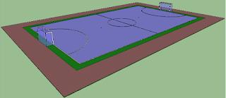 Ukuran Lapangan Futsal Indoor