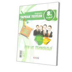 Altın Bilgi SBS 8. Sınıf Fen ve Teknoloji Yaprak Test (Yeşil Seri)