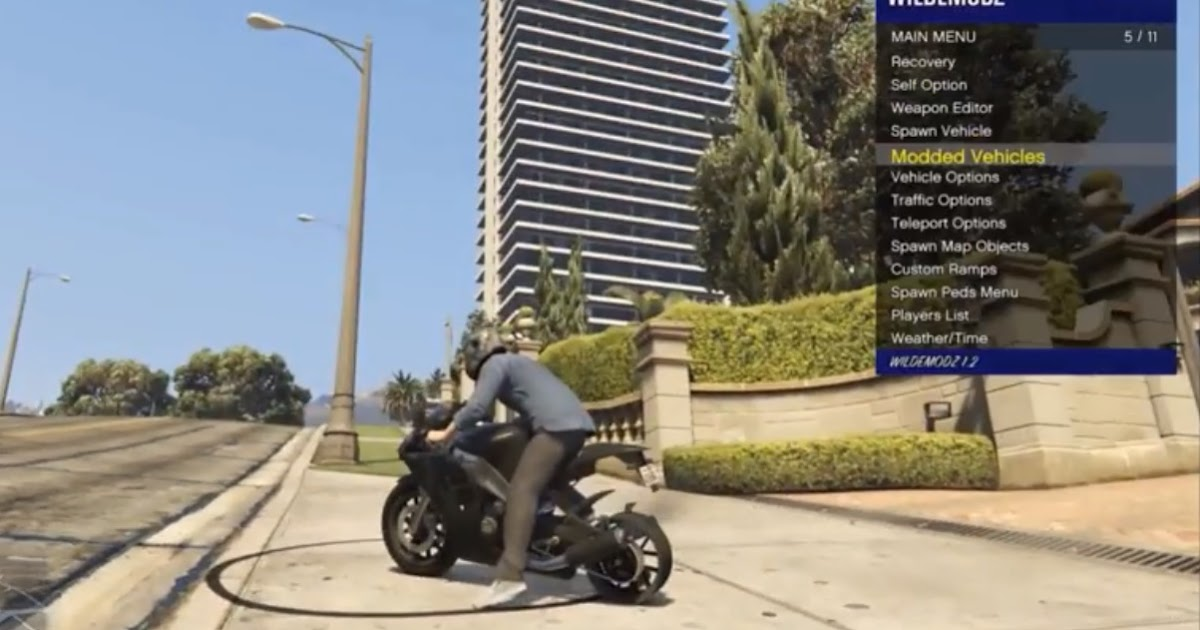 GTA 5 mod menu for PS4