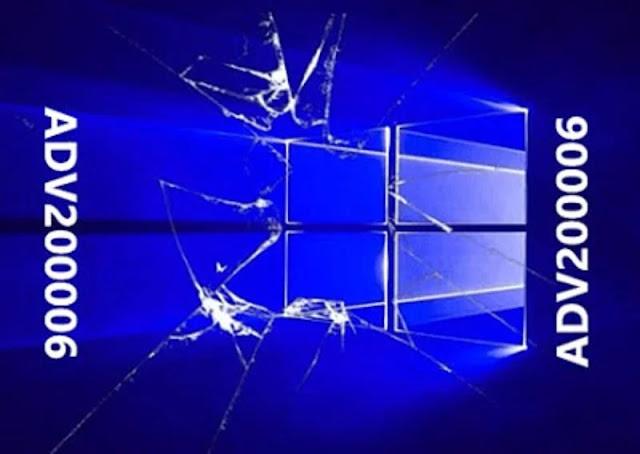 Microsoft dévoile une faille très dangereuse dans Windows 10, 8.1 et 7 : ADV200006