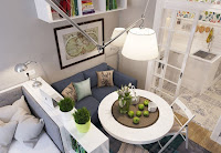 How to organizing small apartment interior