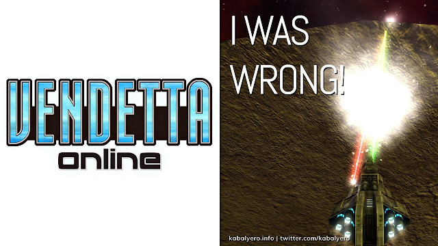 My Initial Understanding WAS WRONG! 🚀 VENDETTA ONLINE Gameplay 2020 🚀