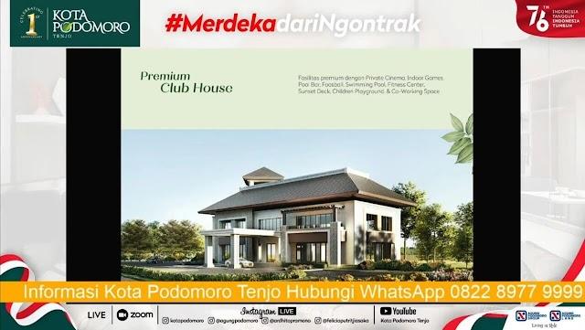 1st Anniversary Kota Podomoro Tenjo - Saatnya Generasi Milenial #MerdekaDariNgontrak