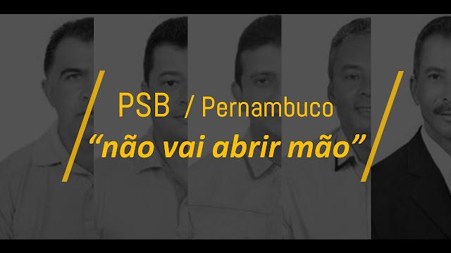 Partido tem posição clara para vereadores do PSB em Panelas