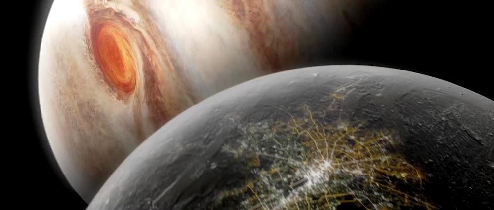 Terrafomed Ganymede in TerraGenesis game