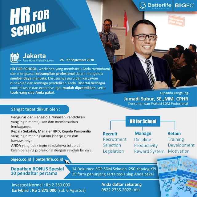 Manajemen SDM untuk Sekolah