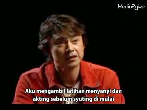 Interview Tetsuo Kurata (Kotaro Minami)  2006 Part 1 Subtitle Indonesia