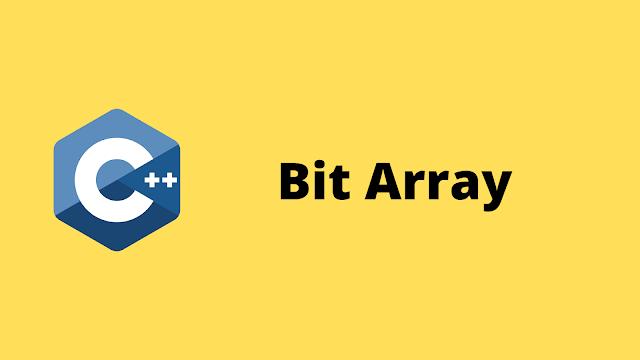 HackerRank Bit Array solution in c++ programming