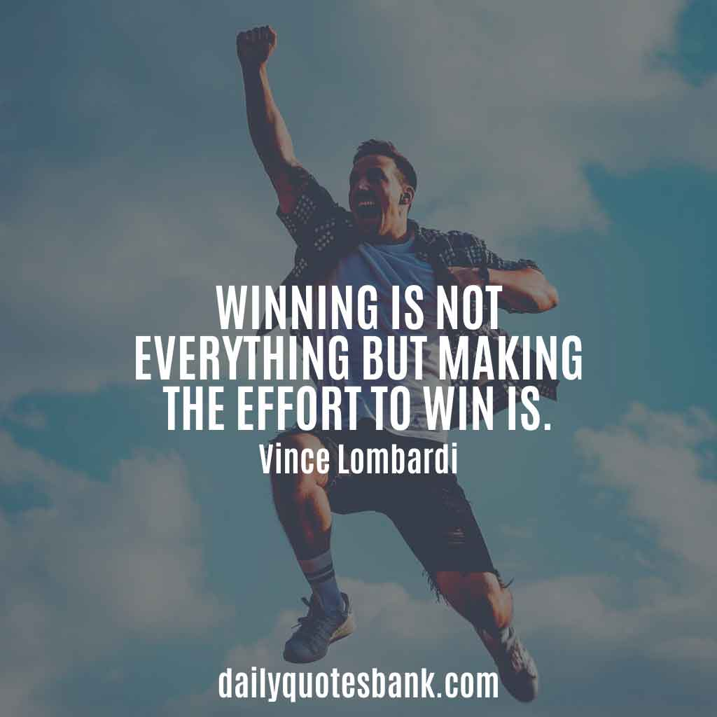 Vince Lombardi Quotes On Excellence, Perfection, Teamwork, Winning