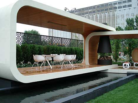 The Following Are Several Descriptions Of A Modern Gazebo By Jack Merlo Which Can Be Great Inspiration To Create Your Own Relaxation Spot In House