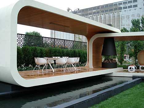 Modern Gazebo Designs By Jack Merlo Thought