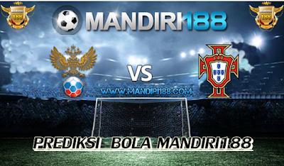 AGEN BOLA - Prediksi Rusia vs Portugal 21 Juni 2017