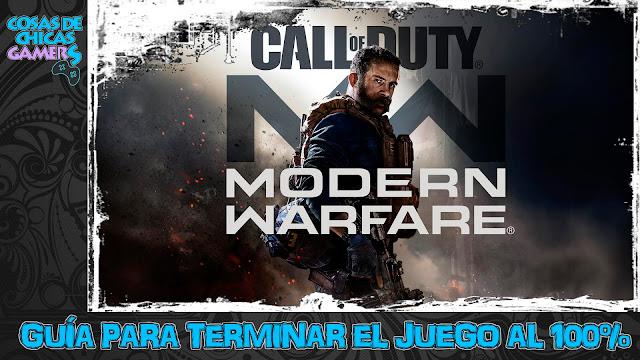 Guía Call of Duty Modern Warfare para completar el juego al 100%