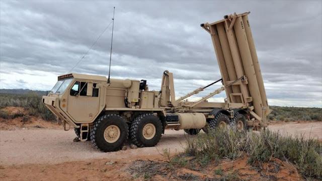 EEUU instala escudo antimisiles THAAD en Corea del Sur