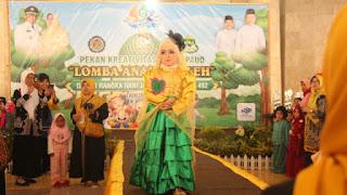 """Anak Sholeh Indramayu Beradu Fashion Muslim Muslimah di """"Catwalk"""""""