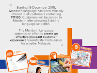 Launching of Mandarin Option Program at TM 100