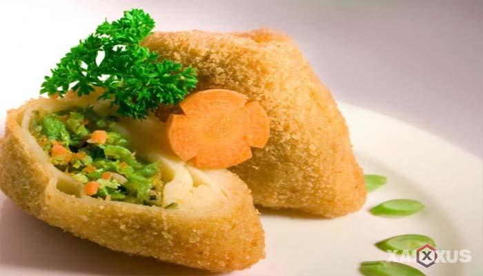 Resep cara membuat risoles isi sayur
