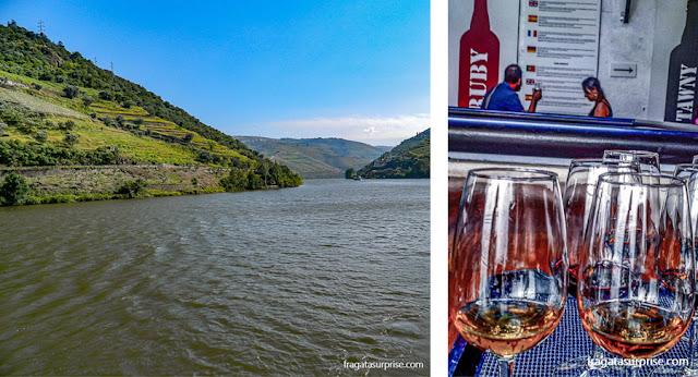 Alto Douro, região vinícola onde é produzido o vinho do porto