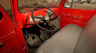 1950 Mercury M-47 Pickup Interior