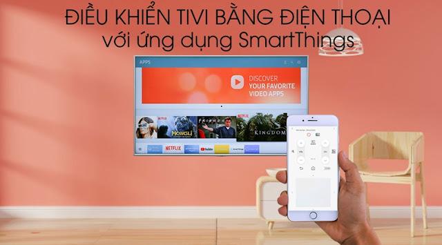 Smart Tivi Samsung 4K 55 inch UA55RU8000KXXV
