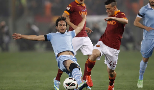 اهداف مباراه روما ولاتسيو في الدوري الايطالي 1-9-2019