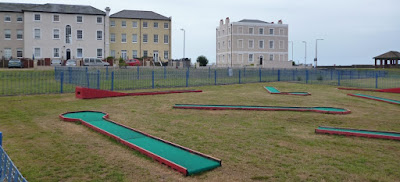Crazy Golf at Walton on the Naze in Essex