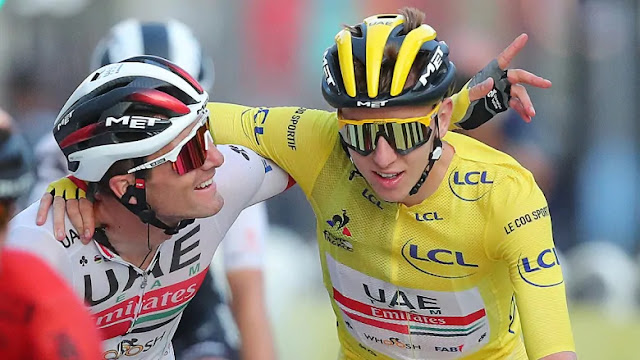 The Tour de France Ended Yesterday, 2 Months Later than Scheduled