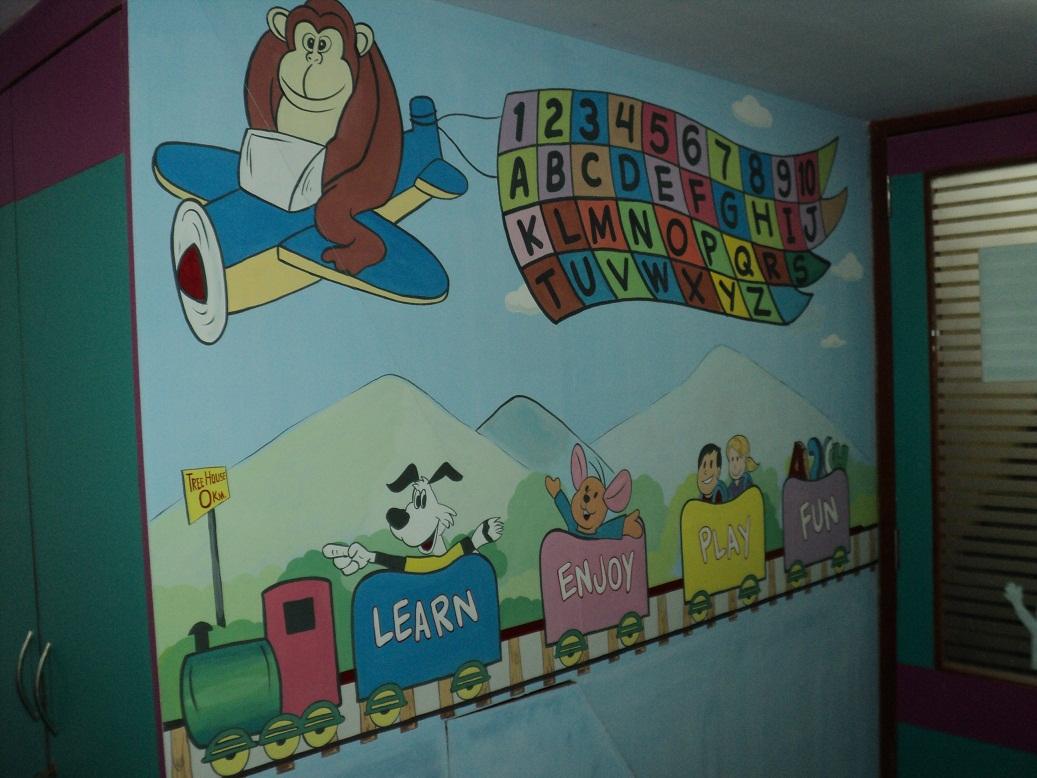 Wall Decoration Ideas For Play School Www