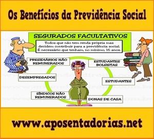Segurado Facultativo na Previdência Social.